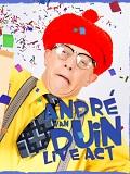 Een foto van de lookalike en imitator van Andre van Duin
