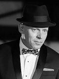 Een foto van de lookalike van Frank Sinatra
