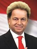 Een foto de lookalike van Geert Wilders
