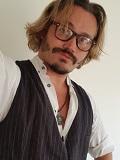 Een foto de lookalike van Johnny Depp