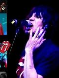 Een foto van de lookalike en imitator van Mick Jagger