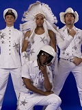 Een foto de lookalike van The Village People